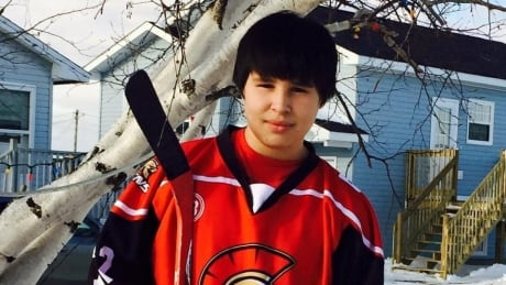 Nineteen-year-old Neil Linklater died on the scene of a head-on collision on Highway 11 on his way home in Esgenoôpetitj First Nation for the weekend.