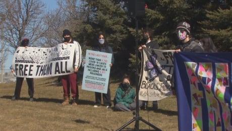 Protest Maplehurst Correctional Facility