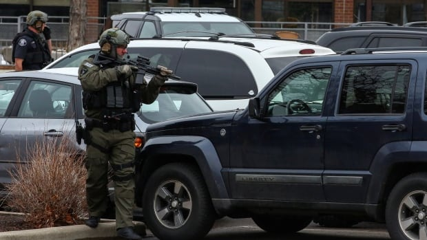 Multiple people, including police officer, killed in Colorado supermarket shooting   CBC News