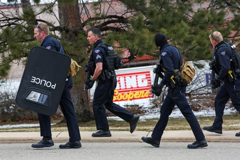 , Multiple people, including police officer, killed in Colorado supermarket shooting   CBC News,