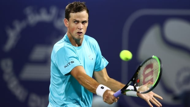 Vasek Pospisil's on-court tirade punctuates loss at Miami Open | CBC Sports