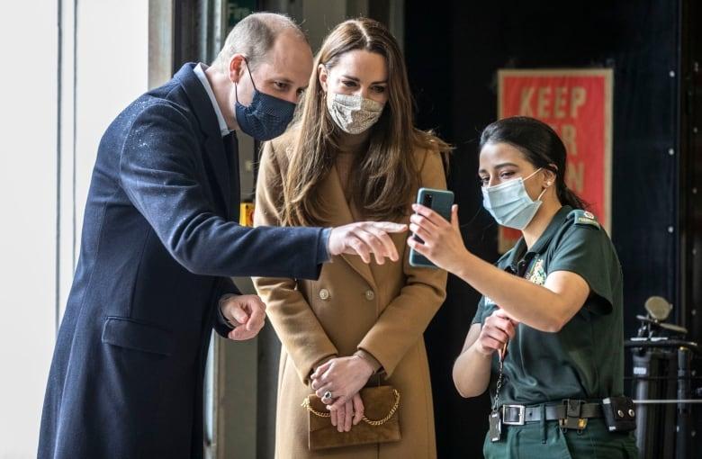 Prince Edward makes royal visit to Canada — pandemic-style
