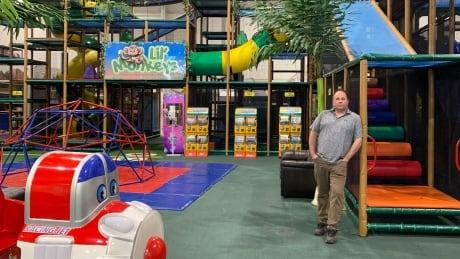Jason Walkinshaw at Lil' Monkeys Indoor Playground