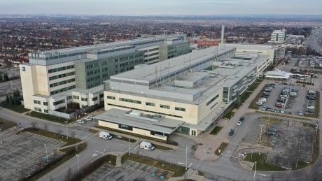 Brampton Civic Hospital - Drone