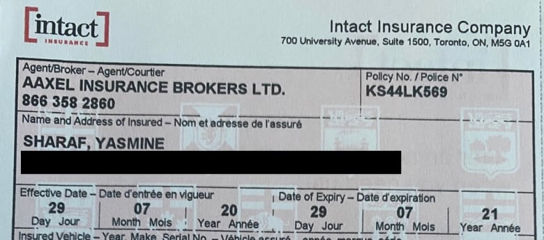 Toronto mom spent her severance pay on car insurance, but ended up uninsured