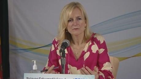 P.E.I. Chief Public Health Officer Dr. Heather Morrison