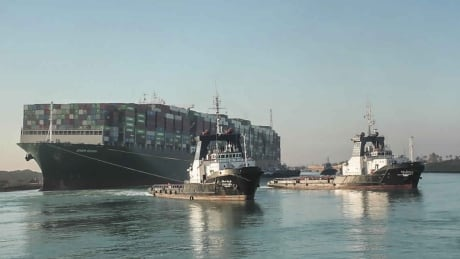 How Canadian designed tugboats helped free the Ever Given from the Suez Canal