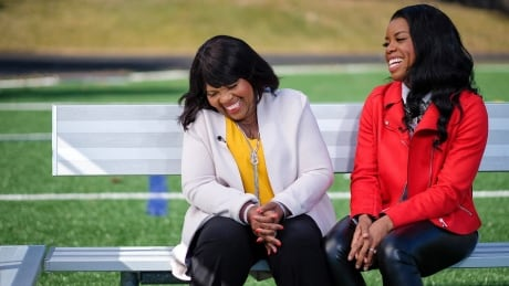 Perdita Felicien draws strength from the hurdles her mother faced