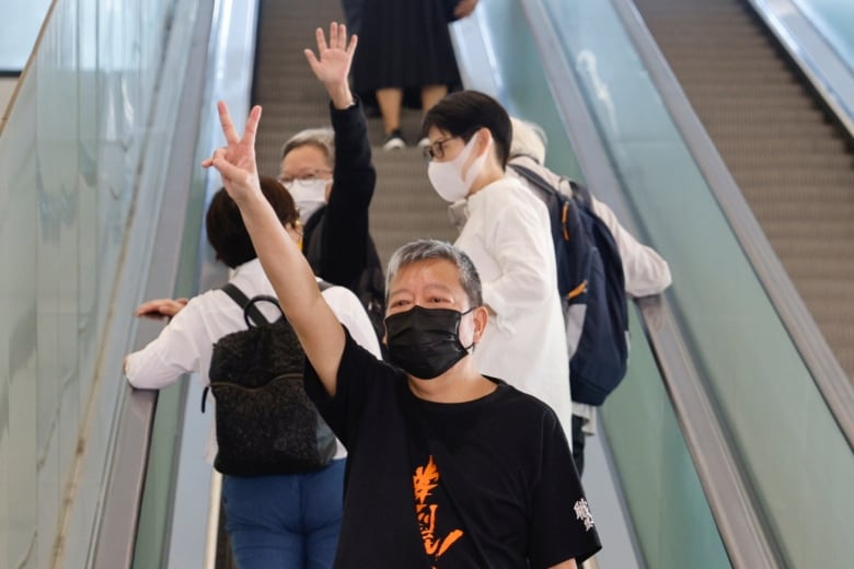 Several veteran Hong Kong activists convicted over huge anti-Beijing rally