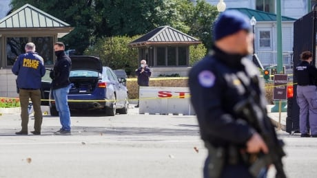 Officer dead, driver fatally shot after ramming vehicle into barricade near U.S. Capitol