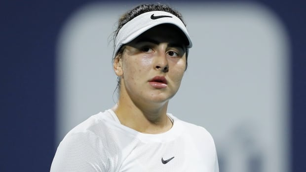 Canada's Andreescu leaves Miami Open final due to ankle injury