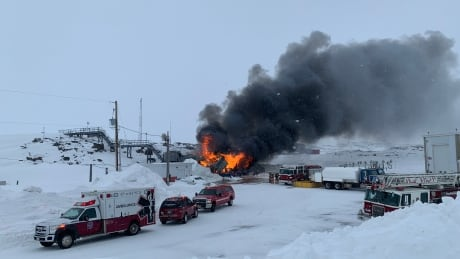 Environment Canada weather station fire Iqaluit