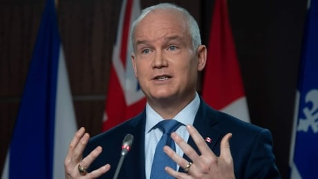 Conservative Leader Erin O'Toole holds a news conference in Ottawa