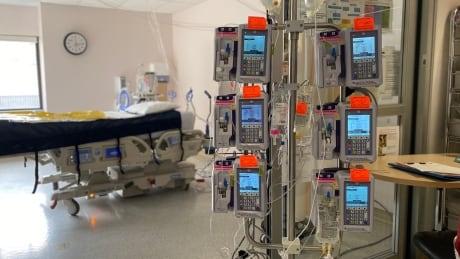 ICU area
