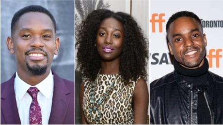 Aml Ameen, Mouna Traoré and Ronnie Rowe Jr. from 'The Porter'