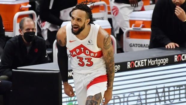 Gary Trent Jr.'s career-high 44 points help Raptors rout Cavs | CBC Sports