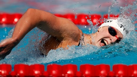 Ledecky dominates 1,500-metre freestyle ahead of swim event's Olympic debut