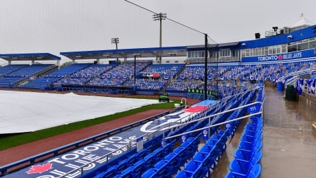 Blue Jays-Angels rained out in Florida, makeup game scheduled for August