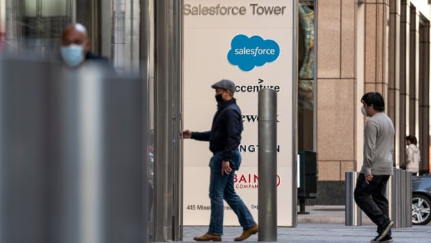 Salesforce will start letting vaccinated employees go back into the office