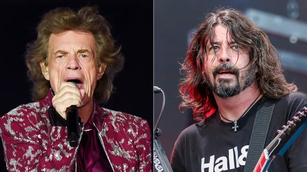 Mick Jagger, Dave Grohl team up for pandemic-inspired track | CBC News