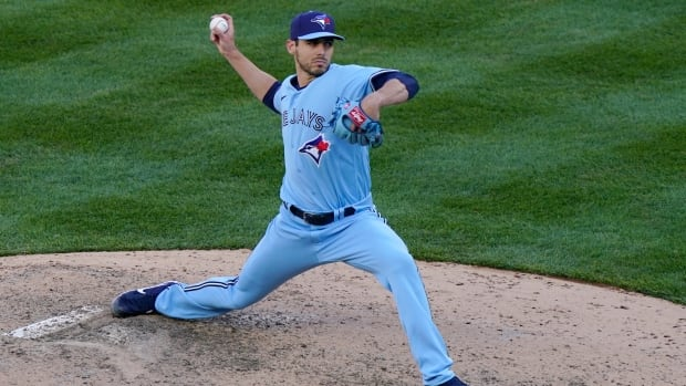Jays closer Merryweather put on IL with oblique strain