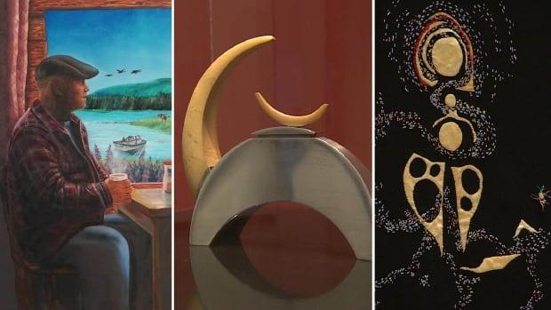Artists from Nunatsiavut explain pieces chosen for new Inuit Art Centre | CBC News