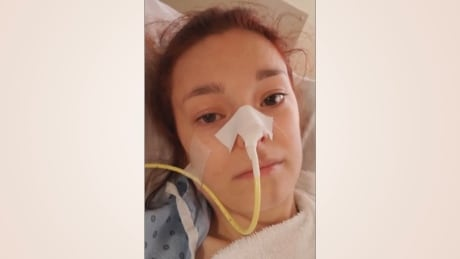 Hospitalized mom, 24, pleads with people to take pandemic seriously