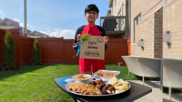How this 10-year-old 'Chef on Saturdays' grew his business during the pandemic | CBC News