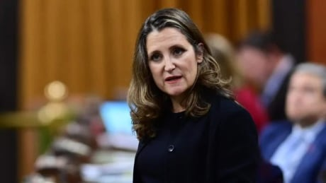 Finance Minister Chrystia Freeland delivers 2021 budget speech