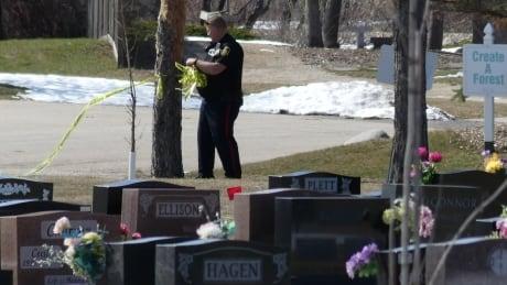 Homicide at Winnipeg cemetery