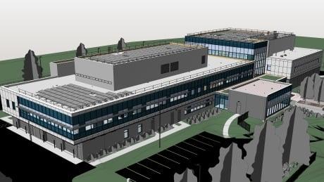Codiac RCMP station render April 2021