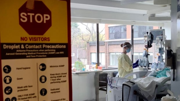 Hospital staff bracing for the worst as ICU beds fill up   CBC News