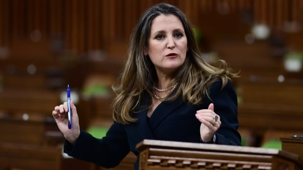 Freeland blasts Air Canada for paying M executive bonuses while receiving bailout