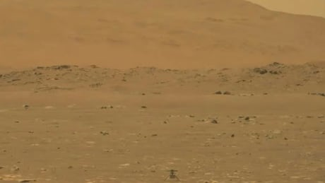 NASA's Ingenuity helicopter makes historic 1st flight on Mars