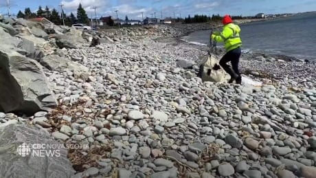 Volunteers clean up N.S. roads, beaches one piece of trash at a time