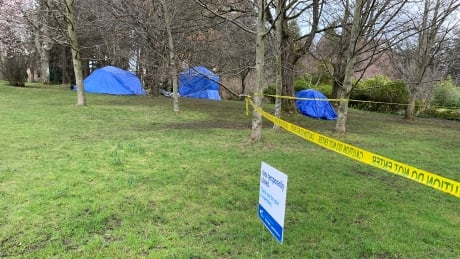 Beacon Hill Park homeless tenters