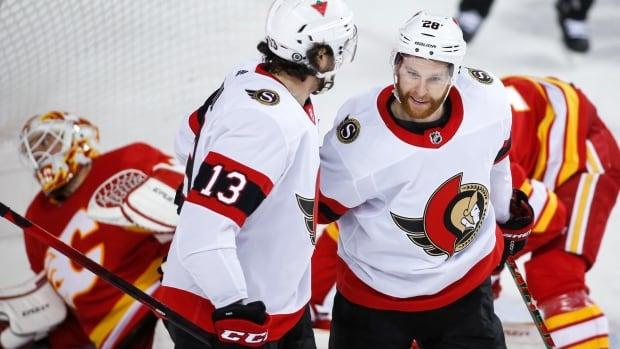 Connor Brown scores twice to lift Senators over Flames