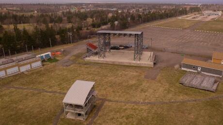 Cavendish Beach Music Festival drone