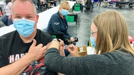 Vaccinations Edmonton Expo Centre