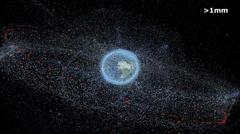 - space debris - We're in a new space race, but what toll is it taking on our environment?