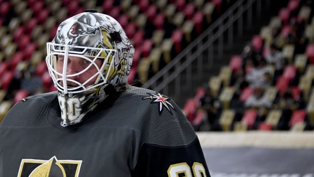 NHL not relaxing protocols for vaccinated players, drawing ire of goalie Lehner