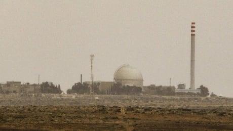 Dimona plant in Israel's Negev desert