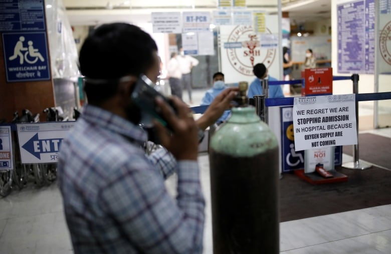 , For 2nd day in a row, India posts global record for new COVID-19 cases   CBC News,