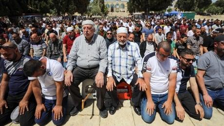 RELIGION-RAMADAN/ISRAEL-PALESTINIANS