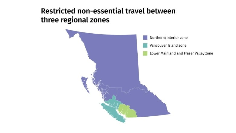 RCMP can now set up checkpoints on B.C. highway corridors to deter  non-essential travel: minister | CBC News