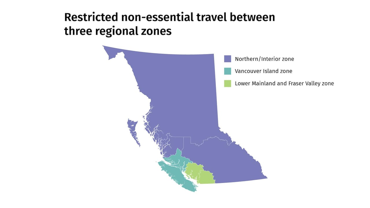 What You Need To Know About B C S Travel Restrictions Cbc News
