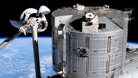 Space station population grows to 11 after SpaceX capsule transport