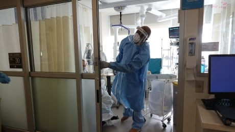 Healthcare worker ICU
