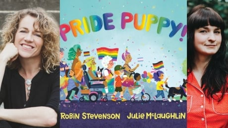 Pride Puppy! by Robin Stevenson, illustrated by Julie McLaughlin