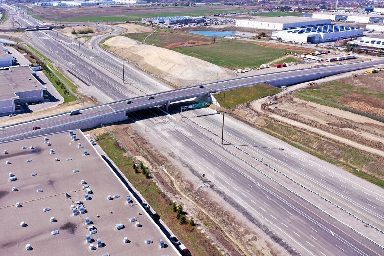 Why you can't drive on this new, $616M Toronto-area highway